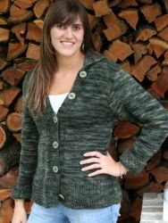 Robusta Cardigan pattern by Briar Rose Fibers