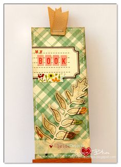 """bookmark using @SIMPLE Comunicación Stories """"Harvest Lane"""" collection #SimpleStories #Fall #bookmark #tag"""