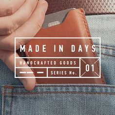 Handcrafted products inspired by life's fable. Made to last, made to work, made for you. Two pairs of hands come together to create one of a kind products for each of life's quirks. Which personality are you?