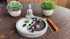 Diy Diwali Decorations, Altar Decorations, Meditation Garden, Buddha Meditation, Pet Rocks Craft, Buda Zen, Houston Garden, Mini Zen Garden, Diwali Diy