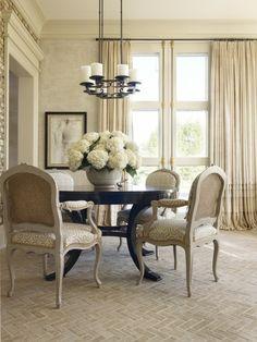 Neutrale Farbe, Luxus, Architektur, Esszimmer, Raum, Wohnzimmer, Elegantes  Esszimmer,