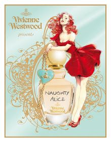"Maly Siri's PIN UP ART !- OFFICIAL PAGE: New Vivienne Westwood Fragrance ""Naughty Alice"", illustration by Maly Siri"