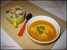 Supă crema de dovleac Supe, Thai Red Curry, Ethnic Recipes, Food, Essen, Meals, Yemek, Eten