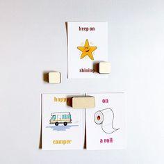 plak-en-klak-set-magneten Move Over, Place Cards, Place Card Holders, Happy, Rvs, Accessories, Pictures, Ser Feliz, Being Happy