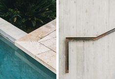 piscina minimalista en un entorno rustico castillo de Peratallada por Mesura arquitectura 5