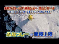 【公式】「世界ベスト・オブ・映像ショー 頂上リサーチ」 ふなっしーが南極上陸!