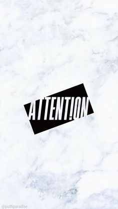 Charlie Puth - Attention | Phone wallpaper (marble)