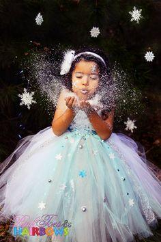 SnowflakeTutu Dress Christmas tutu dress by GlitterMeBaby on Etsy, $70.00