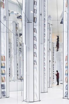 INFINIE Une librairie qui semble infinie  2Tout2Rien