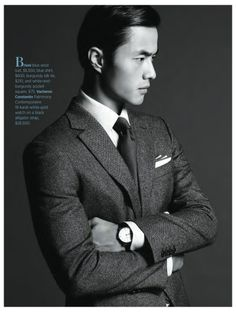 Zhao Lei Goes Sartorial for Robb Report