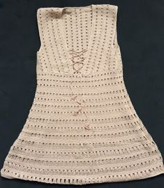 Crochet Dress Girl, Crochet Summer Dresses, Crochet Cardigan, Crochet Clothes, Moda Crochet, Knit Crochet, Crochet Hats, Jenifer Aniston, Knitting Yarn