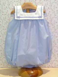 I love blue and white on little babes!