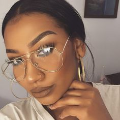 @lostinveins--Thank you and you ARE Beautiful BUT lol Love the large Glasses look again on a new picture that glasses are not new-we have this along time ago! Thank you Your beautiful and don't change for another people just YOU