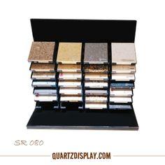 Quartz Stone Table Display SR080 Xiamen Tsianfan Stone Display Industrail & Trade Co., Ltd. Supply quartz stone, granite , marble , mosaic tile display stand, display showcase, display books and so on. More detail: www.quartsdisplay... E: kate@tsianfan.com kate@chndisplay.com T: 0086 139 5026 5490