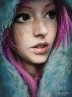 Deviant Art Multicolored by Junica-Hots