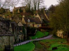 Arlington Row, Cotswolds, England