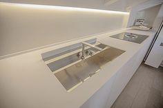 Cuisine contemporaine / en pierre / modulaire - T45 EVO - TM Italia