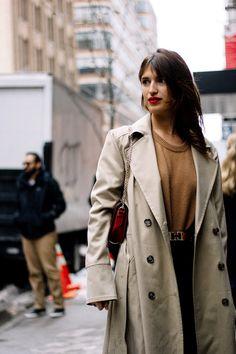 Street style new york fashion week otono invierno 2017 | Galería de fotos 12 de 119 | VOGUE