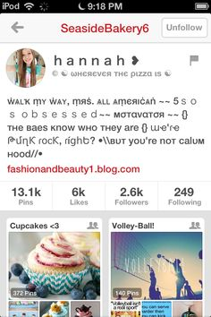 Plz follow Hannah let's get her to 3k