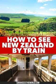 Explore the beauty of New Zealand by train! Here's all you need to know about taking the Northern Explorer train between Wellington and Auckland in the North Island. Slow down and enjoy the ride. babies flight hotel restaurant destinations ideas tips New Zealand Destinations, New Zealand Itinerary, New Zealand Travel Guide, Travel Destinations, New Zealand Trip, New Zealand Adventure, Bucket List Destinations, Adventure Time, Travel Guides