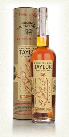 Colonel EH Taylor Straight Rye