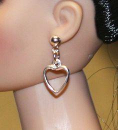 """Love"" Earrings for Tonner Tyler Cami Dee Anna Ellowyne AM Gene Sybarite"