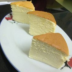 """6"""" Japanese Cotton Cheesecake, 3 cakes, different temperatures/timing, different results"""