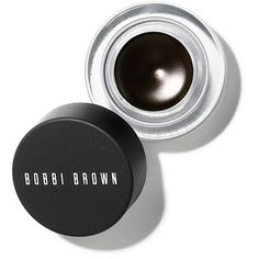 Bobbi Brown Long-wear gel eyeliner ($25) ❤ liked on Polyvore featuring beauty products, makeup, eye makeup, eyeliner, long wear gel eyeliner, liquid eye liner, gel eye-liner, liquid eye-liner and long wear eyeliner