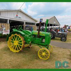 John Deere tractors -