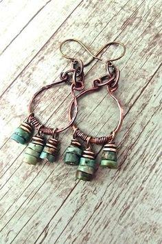 Handcrafted Bohemian Jewelry,Malibu Jewelry, Boho Chic Jewelry, Hippie Chic…