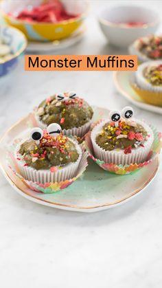 Baby Food Recipes, Fall Recipes, Baking Recipes, Holiday Recipes, Dessert Recipes, Halloween Breakfast, Cute Baking, Halloween Treats, Kids Meals