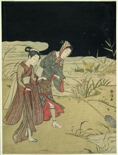 Suzuki Harunobu: Catching Fireflies - Art Institute of Chicago