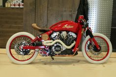 INDIAN MOTORCYCLES PROJECT SCOUT WINNER