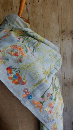 """Wild Flowers"" scarf 
