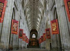 Catedral de Winchester. Último cuarto S.XIV. -Gótico perpendicular inglés.