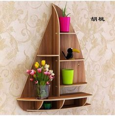 Diy cardboard furniture - Vector plan Shelf Ship model puzzle the file for laser cutting dxf CNC