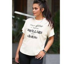 Tričko s metalickým potiskem | modino.cz #ModinoCZ #modino_cz #modino_style #style #fashion #shirt #bellisima