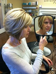 highlights and lowlights and an inverted bob by Do's & Dye by Julie