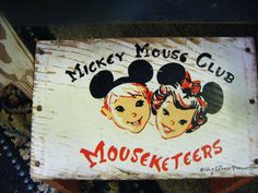 Mickey Mouse Club Mouseketeers Stepstool Seat For Child Walt Disney Productions    Works as stepstool with step down and as childs seat with the back