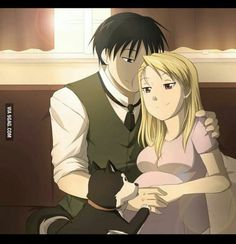 I will always love Fullmetal Alchemist. Roy and Riza are so perfect!