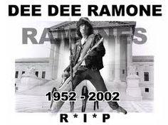 Dee Dee Ramone.