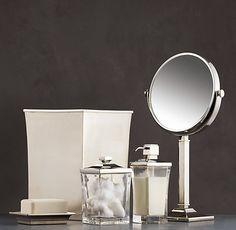 Bathroom Accessories Restoration Hardware milo smoke :: labrazel :: luxury bath accessories | clarendon