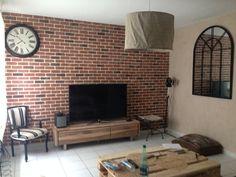 Murs de briques faux sur pinterest cuisines murs de briques et briques - Fausse brique leroy merlin ...