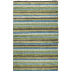 Oceanic Stripe Rug - 3x5