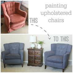 320 * Sycamore: how to paint fabric chairs