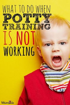 What to do when potty training is not working.  Don't feel like a potty training failure.  Solve the problem without sticker charts.  Motivation that you are doing everything right.  This will give you five tips on how to make it through.