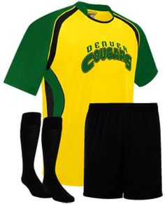Tulsa Soccer Package. Available in 21 colors, great Soccer Uniform Package for your team, club or league.