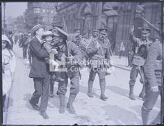 Leicestershire infantrymen parading by the rail station Glass plate negative Ww1 Soldiers, Wwi, Baden Powell, Station 1, General Hospital, Plate, Military, Dishes, Plates