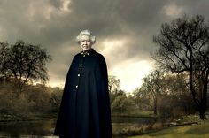 Queen E by Annie Leibovitz    I can't help it, I love the portraits of the Queen Mother