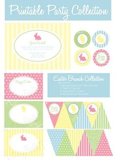 Itsy Belle: {FREEBIES} Printable Spring/Easter Banner